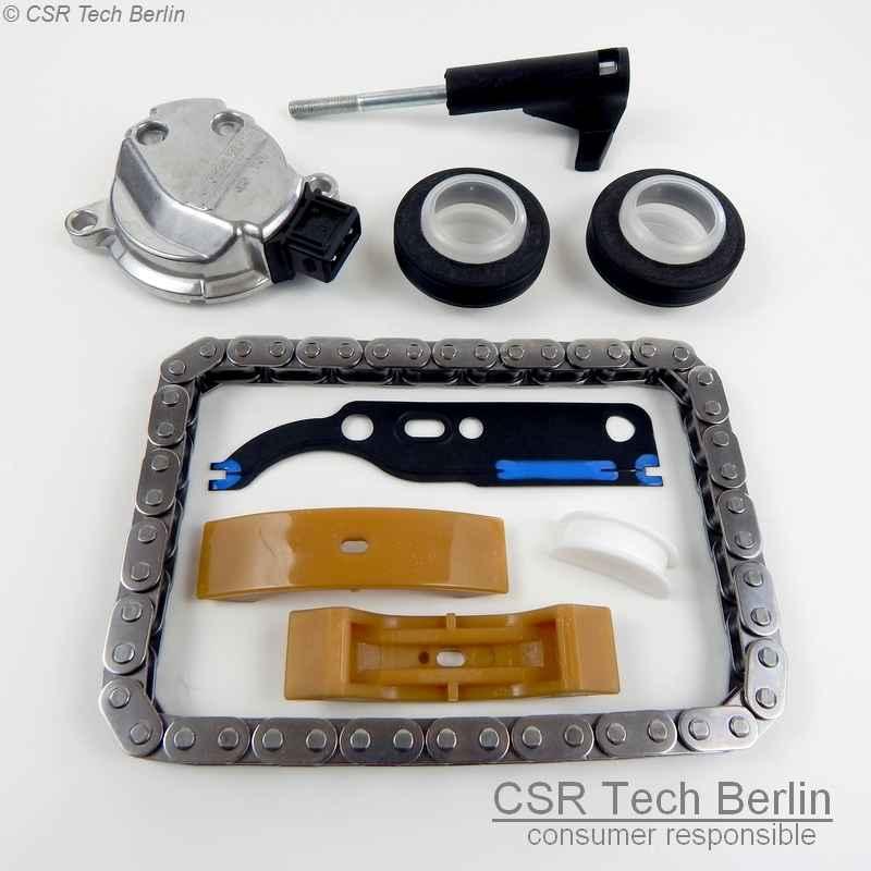 Gleitschienen Rep-Satz für Audi VW Seat Skoda Nockenwellenversteller 1.8/1.8t/2.4/2.7t/2.8/3.7/4.2 CSR Tech Berlin - specializing in engine hydraulics