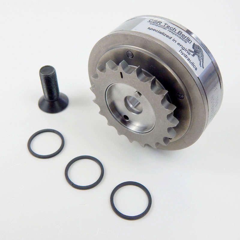 Nockenwellenversteller Audi VW Seat Skoda 2.0 FSI/TFSI 06F109088J Rep-Satz - CSR Tech Berlin - specializing in engine hydraulics, 06F198107A, 06D109281D