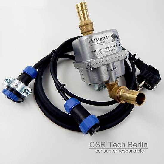Motorvorwärmer 1800w 19mm Schlauchanschluss mit IP68 Zusatzanschlusskabel